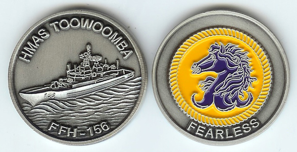 HMAS-Toowoomba-Coin