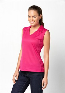 Ladies-Sleeveless-Polo