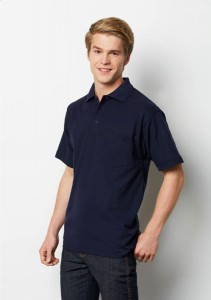 Mens-Pocket-Picke-Knit-Polo