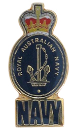 Royal Australian Navy Lapel Pin